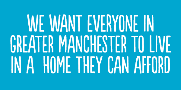 Affordable homes for Manchester