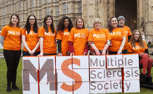 MS Society campaigners