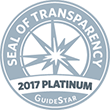 Seal of Transparency 2017 Platinum