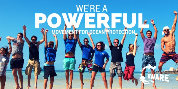 A Powerful Community of Ocean Protectors