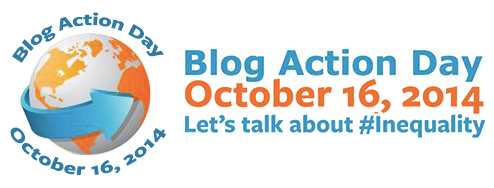 Blog Action Day 2014. Let's talk about Inequality