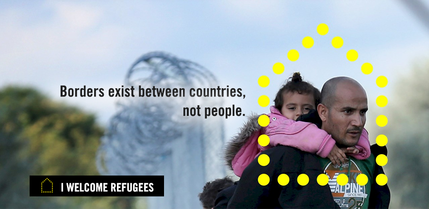 Borders exist between countries, not people. Donate today.