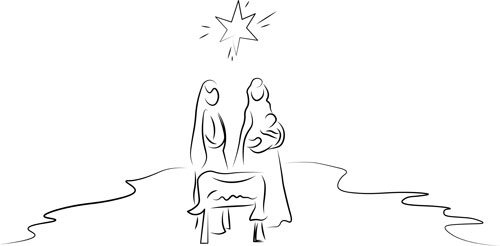 Nativity sketch