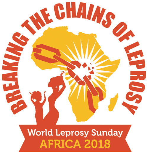 World Leprosy Sunday logo