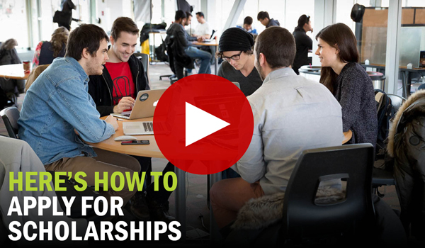 How To Apply For Scholarships Video
