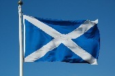 Scottish flag copyright James Stringer CC BY-NC 2.0