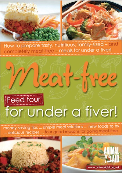 Meat-free for under a fiver cover
