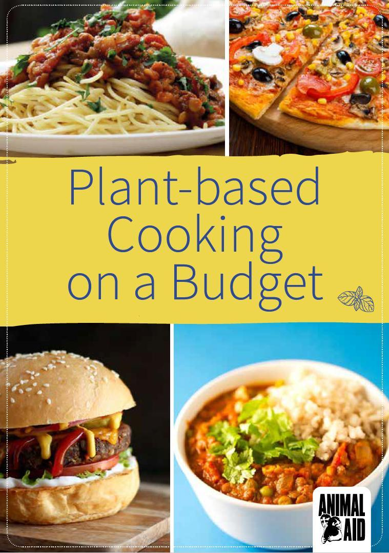 Plant-based Cooking on a Budget cover