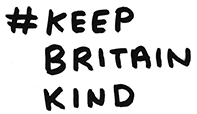 Click to share the hashtag #KeepBritainKind Keep Britain Kind