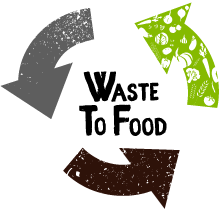 waste to food logo