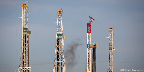 Four drilling rigs in Texas