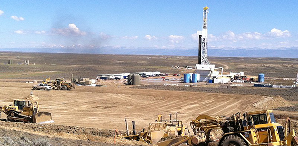 Fracking on public lands in Wyoming