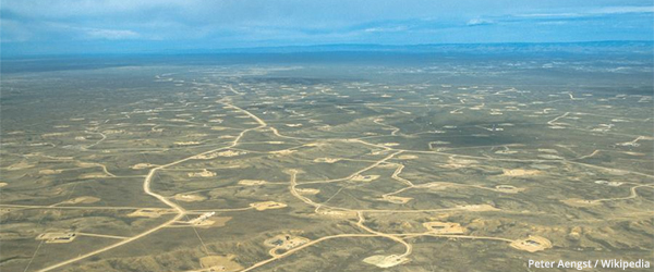 Wyoming Gasfield