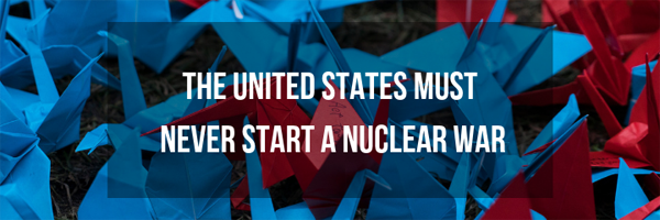 No Nuclear War Graphic