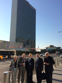 PSR Team at the UN