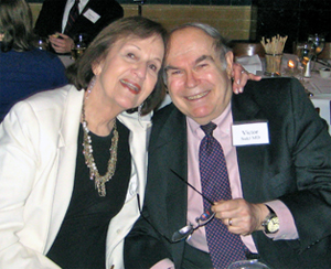 Vic and Ruth Sidel at PSR 50th Anniversary Dinner