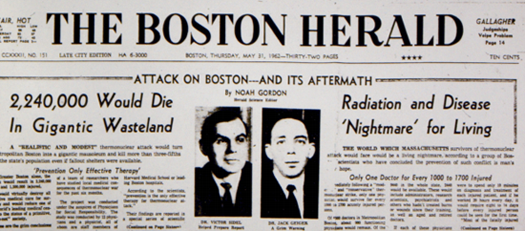 1962 Boston Herald article