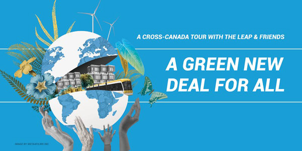 Please join us for A Green New Deal for All tour.