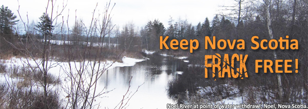 Keep Nova Scotia FRACK free!