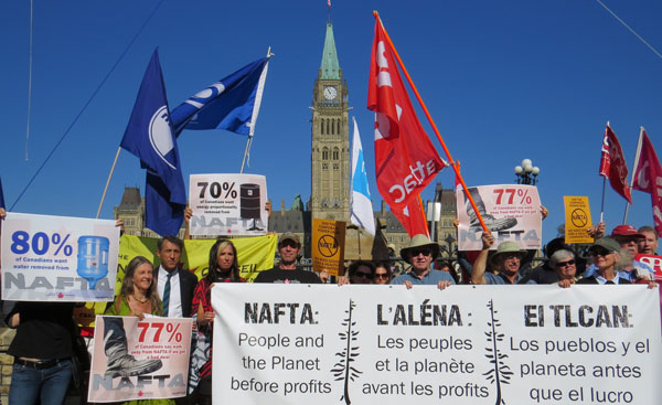 We've joined more than 100 prominent Canadian, Québécois and Indigenous artists who are asking the government to protect culture in NAFTA negotiations.