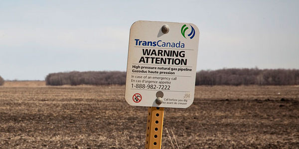 TransCanada Warning