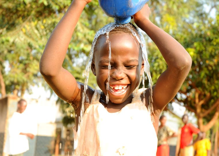 £9 can provide safe, clean drinking water to 500 people every month