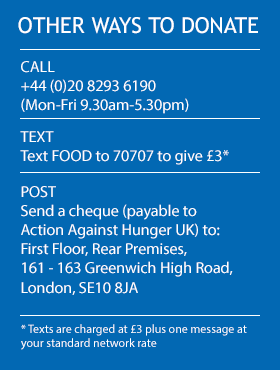 Other ways to donate to Action Against Hunger