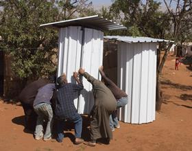 £106 can fund the construction of latrines for 60 people