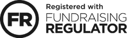 Registered with Fundraising Regulator - Logo