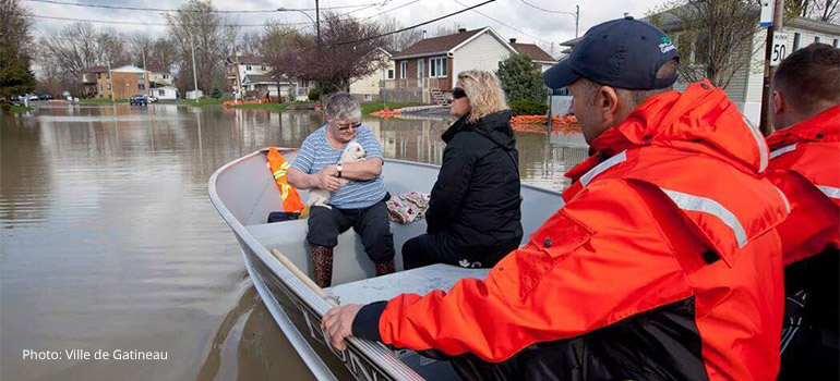 Spring Floods Appeal - Quebec