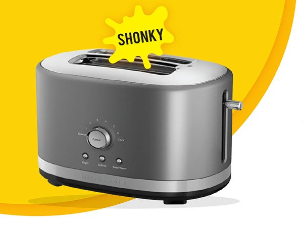CHOICE Shonky Awards 2018 – KitchenAid 2-slice toaster