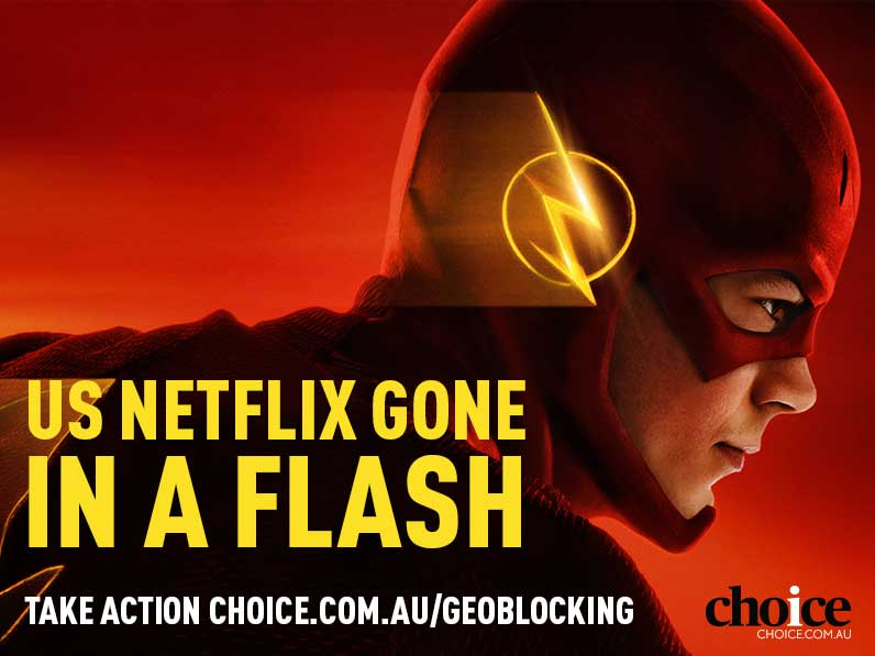 Netflix gone in a flash