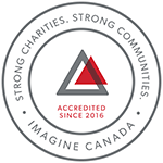 Imagine Canada - Accredited since 2016