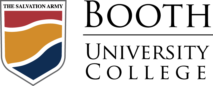Booth University College logo.