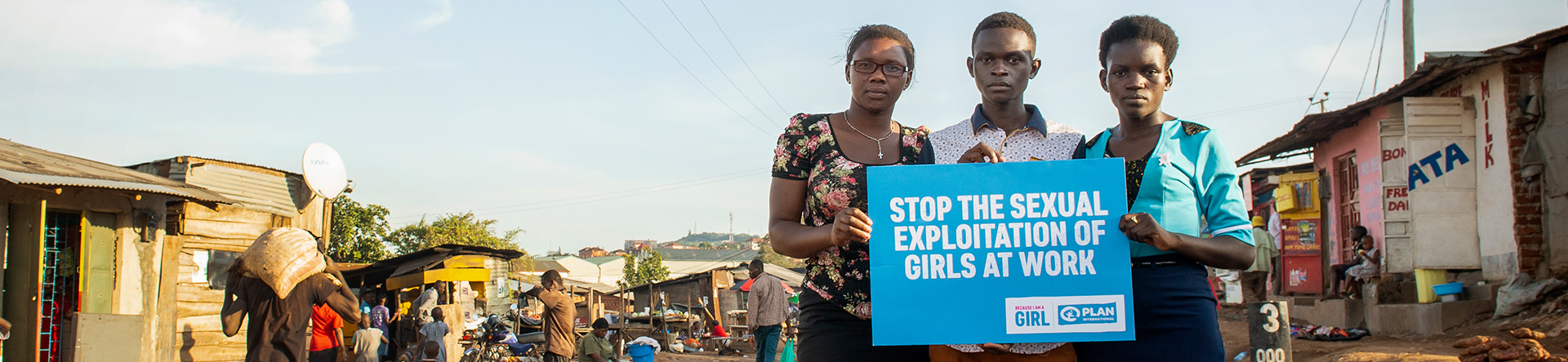 Stand with brave girls in Uganda to end sexual exploitation at work